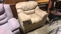 Suede Accent Chair Dimensions 39in x 36in Height 35in Framingham
