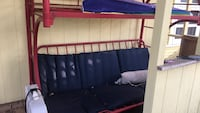 Metal bunk bed with out door cushion Denison, 75021
