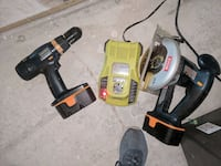 Ryobi drill saw and 2 new batteries with charger Greensboro, 21639