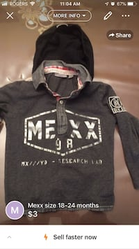 black and white zip-up hoodie Montréal, H1R 1M6