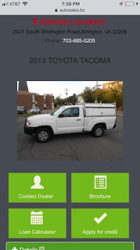 Toyota - Tacoma - 2013 Centreville