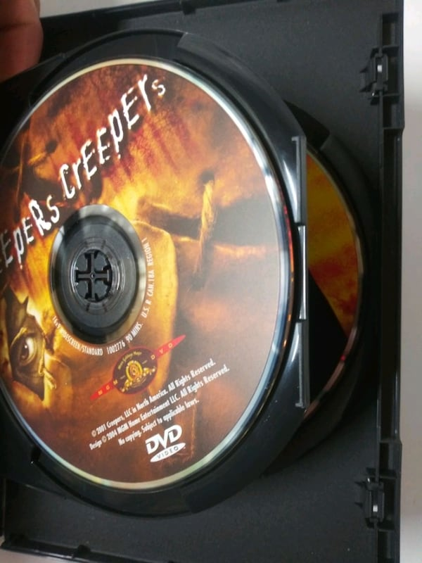 Jeepers Creepers 1 and 2 dvd 4f257dc5-344d-4f4b-a67d-4b1664132b2e