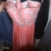 Sherri Hill /Pink strapless/Gown. London, N6H 1M9