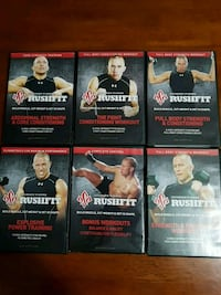 GEORGE PIERRE RUSHFIT DVDS WORKOUT