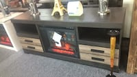 Tv Stand with fireplace Irving, 75062