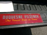 Duquesne Pilsner very old Pittsburgh, 15212