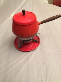 Fondue Set With Tray with forks Edmonton, T6C 4C8