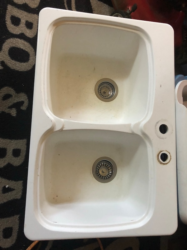 White Blanco sink