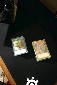 Yugioh over 100 cards