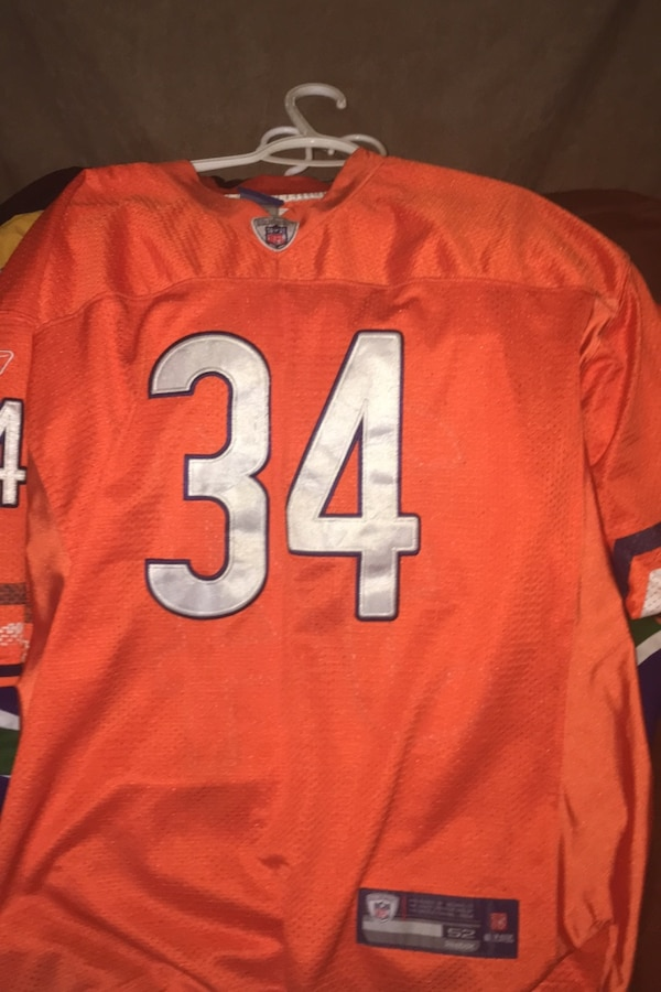 Chicago Bears NFL jersey size 52  0