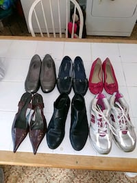shoes different sizes 5 each Dunmore