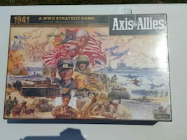New axis allies board game