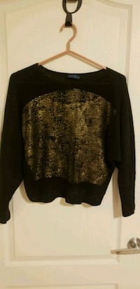 black and brown knit sweater Markham, L6C 0H6