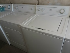 #1707 Whirlpool Estate washer and dryer