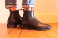 RM Williams Leather Chelsea Boots unisex  West Vancouver, V7V 3J3