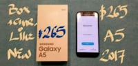 AMAZING  Samsung Galaxy A5 2017LIKE NEW 10/10+box+ Pointe-Claire, H9R 3A3