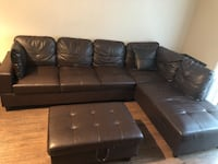 Brown Sectional Couch Laurel, 20707