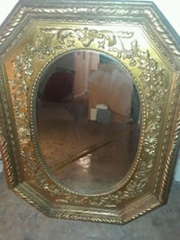 Beautiful  wall accent  mirror gold frame