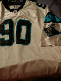 two black and blue NFL jersey shirts Alexandria, 22306