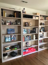 Semi-Solid Oak Books Shelves - locally made Lothian, 20711