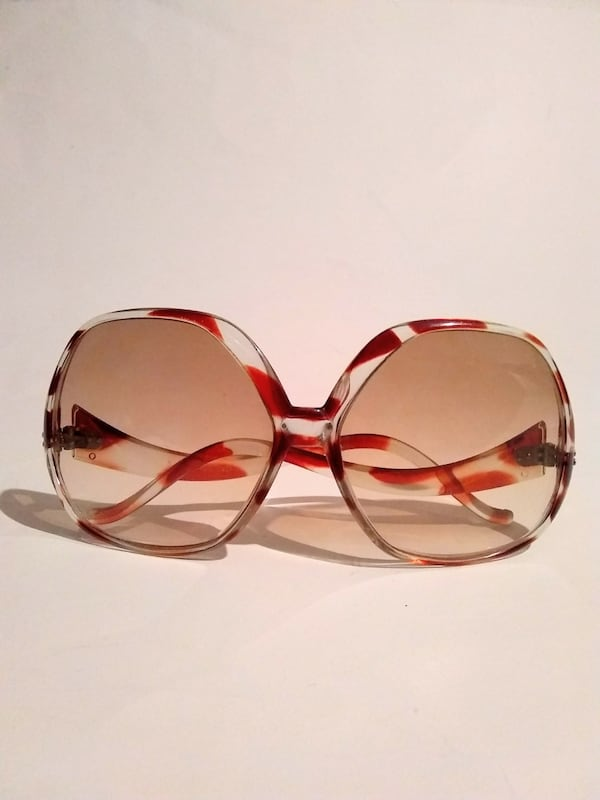 Vintage Oversized French Sunglasses 6