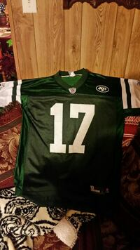 green and white NFL 17 jersey shirt