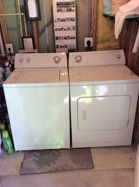 white washer and dryer set Bristow, 20136