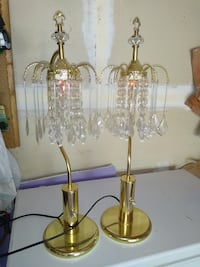 Two chandelier lamps