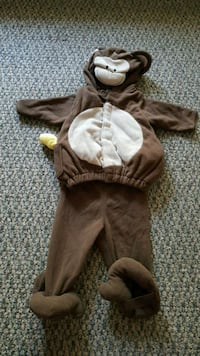 Infant size 6-12months monkey costume Coquitlam, V3B 2P6