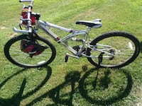 gray and black full-suspension bike French Lick, 47432