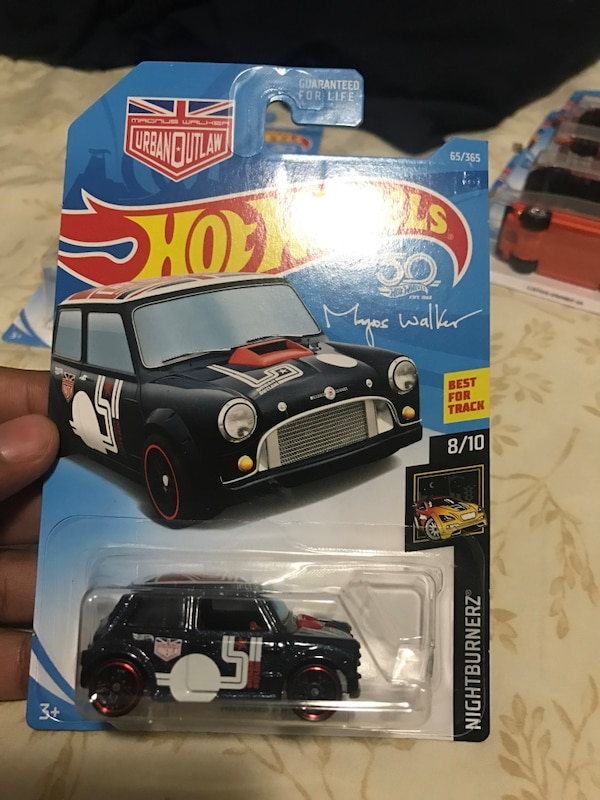 Hot Wheels Morris Mini