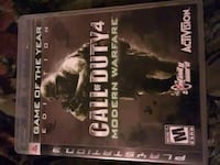 Ps3 game cod4mw Morristown, 37814