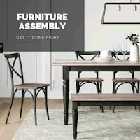Furniture assembly Washington