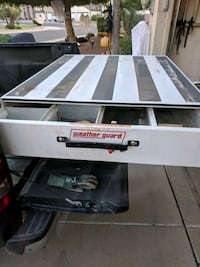 Weatherguard rat Pack tool box for truck bed. good condition.  Gilbert, 85295