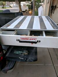 Weatherguard rat Pack tool box for truck bed. good condition.