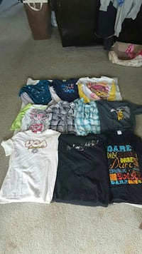 Girls shirts  L
