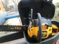yellow and black Poulan chainsaw Moreno Valley, 92553