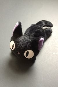 Japanese Anime Studio Ghibli Kiki's Delivery Service Jiji Cat Plush