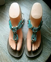 Cute Turquoise Sandals Size 7 Bell Gardens, 90201