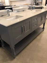 Solid wood vanities every colour and size available ight sway Vaughan, L4L