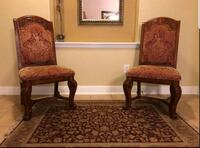 Solid Wood Accent Chair's