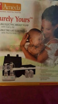 Ameda Purely Yours double electric Breast Pump    Brampton, L6V 3C9