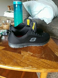 pair of black Skechers running shoes Ann Arbor, 48103