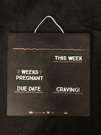 Pregnancy Photo Board - fill in with chalk!