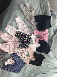 Gently used baby girls clothes  Mississauga, L5R 0E4