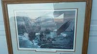 Limited Edition Eagle Picture Oak Frame Prescott Valley, 86314