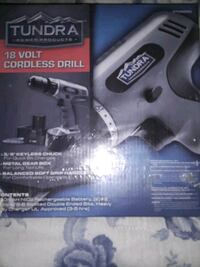 Tundra 18 volt cordless  drill  Fayetteville, 17222