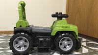 green and gray ride-on toy car Cambridge, N3H 5A7