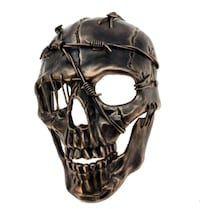 Halloween barbed wire Skull face, M39506C