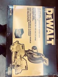 Dewalt miter saw 12 in